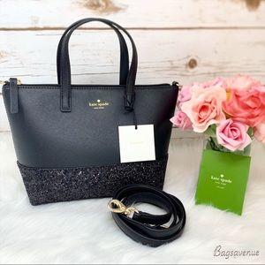 Kate Spade Greta Court Ina Black Bag WKRU5610 $169